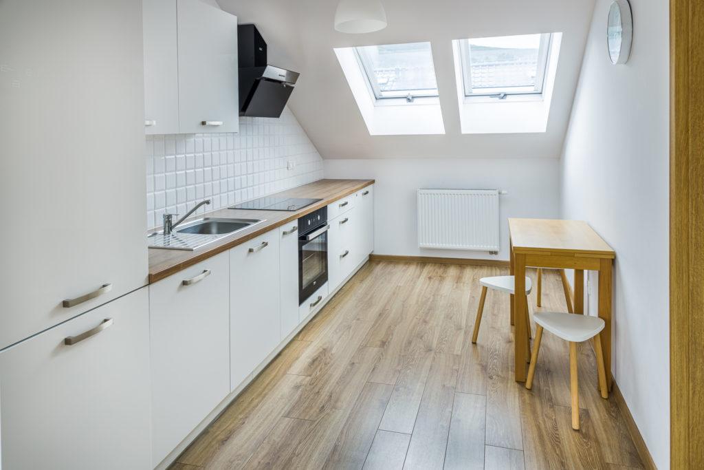 Fotografia wnętrz Apartament AMG Kuchnia