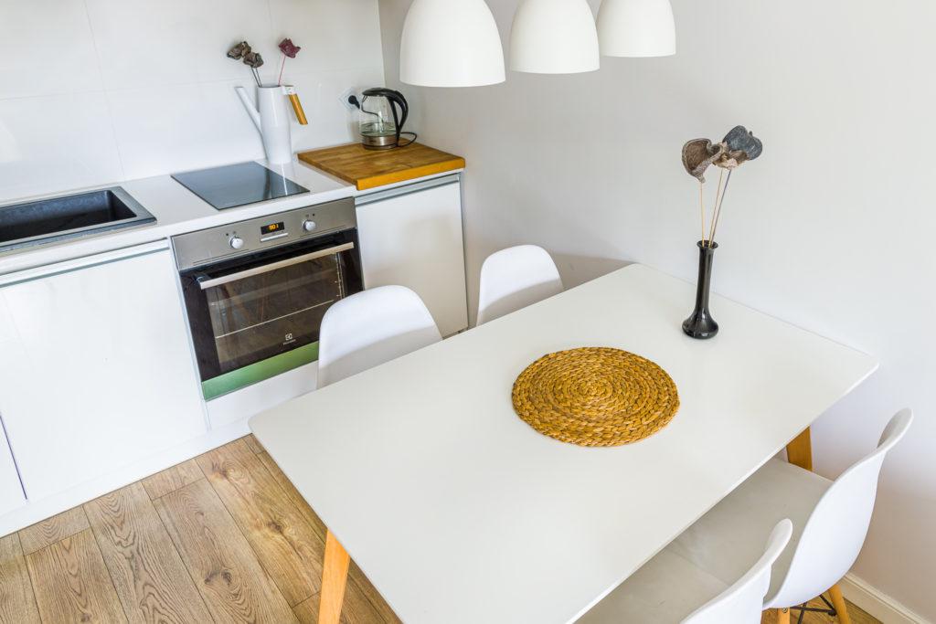 Fotografia wnętrz Apartament Poznań Aneks kuchenny