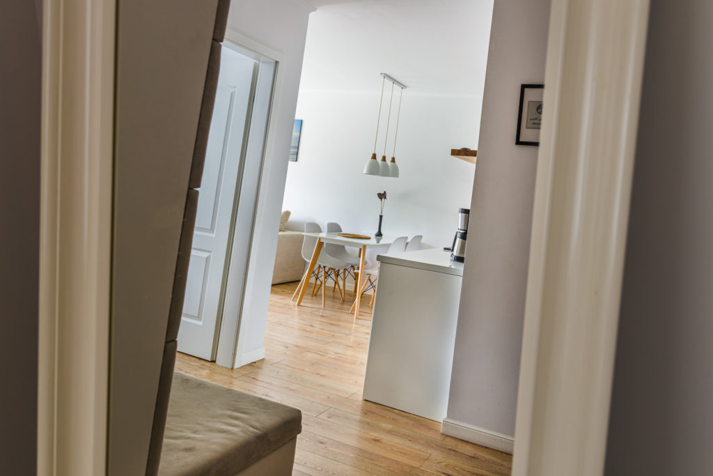 Fotografia wnętrz Apartament Poznań Przedpokój